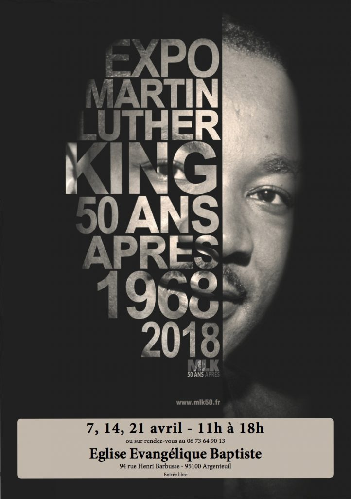 Exposition Martin Luther King 50 ans après – 1968-2018